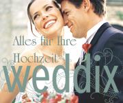 Mit weddix.de meine Hochzeit gestalten