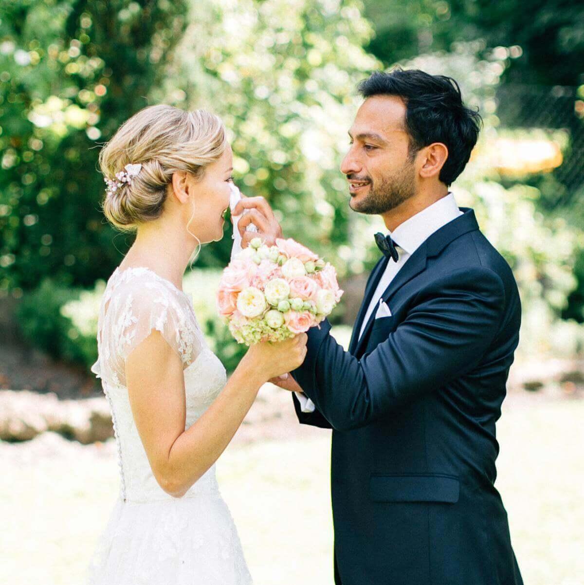 Taschentücher für Hochzeitsgäste - weddix
