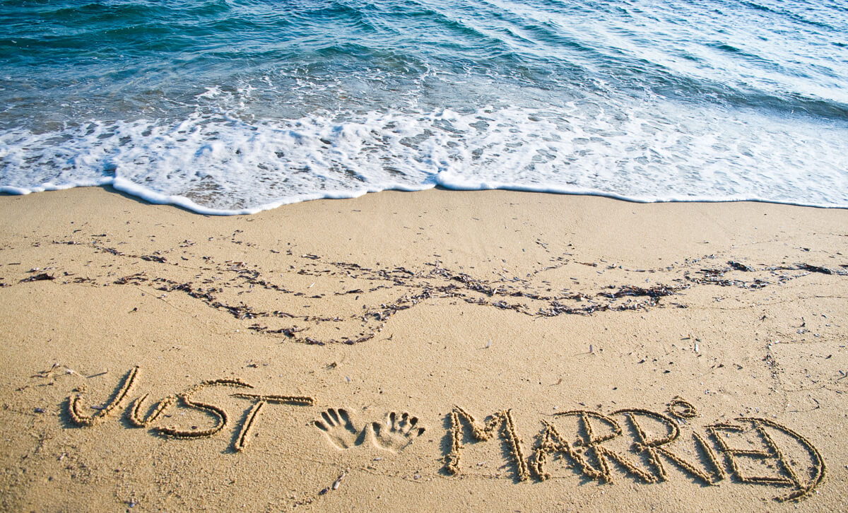 Strand - Just Married