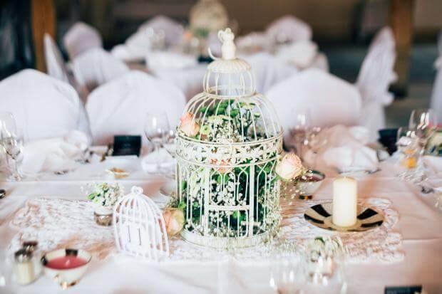 Tischdekoration f r die hochzeit ideen und tipps weddix for Hochzeitstafel deko