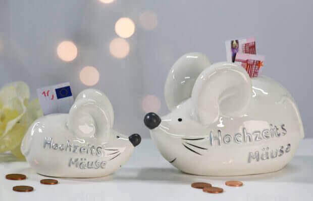 Geldgeschenke zur Hochzeit - originell verpackt - weddix