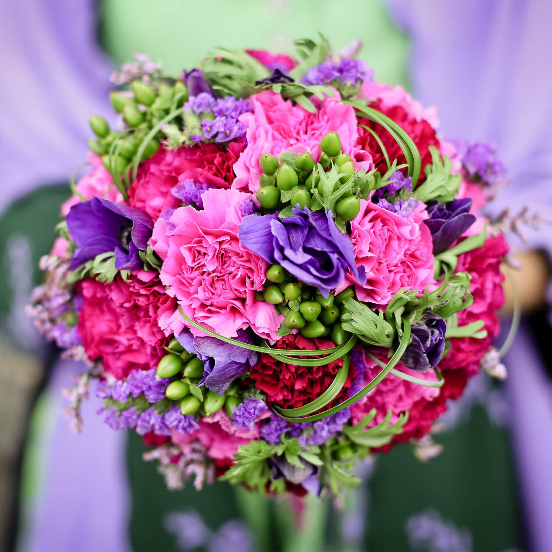 Blumenfarben Fur Die Hochzeit Weddix