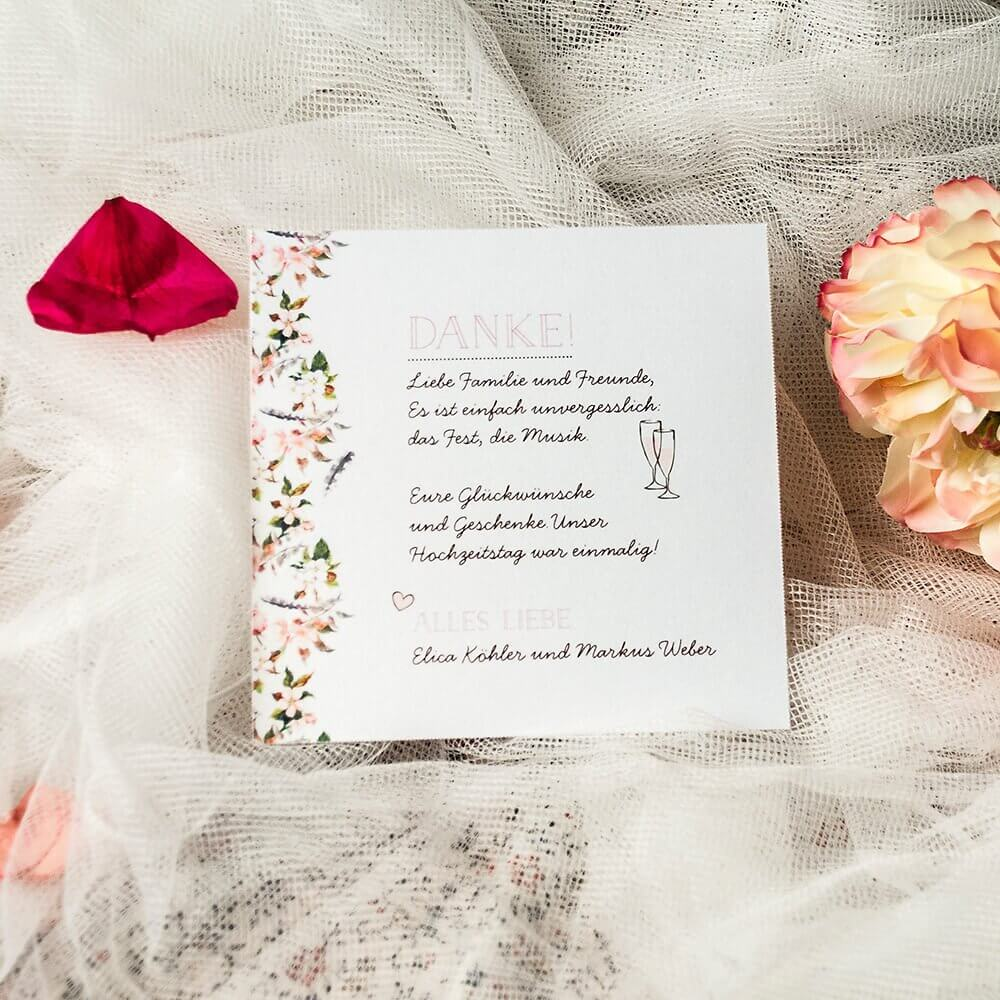 Mustertexte Fur Danksagungen Nach Der Hochzeit Weddix