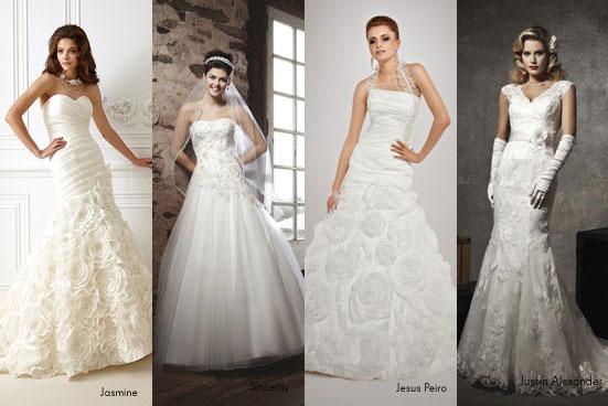 Glam-Hochzeit mit Pailetten-Brautkleid