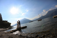 Creativ Wedding - Brautpaar in Italien