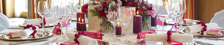 Hochzeitsdeko In Fuchsia Weddix