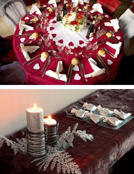 Tischdeko und mehr f r die hochzeit in rot f r farbe auf for Tischdeko rot schwarz
