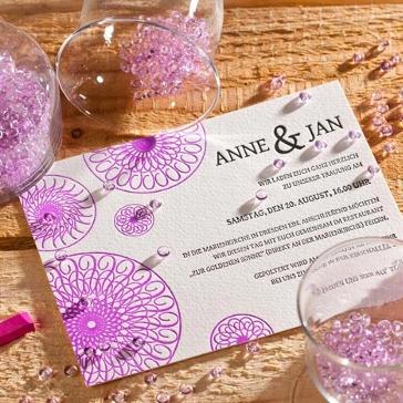Einladungskarten für die Hochzeit: Hochzeitseinladungen verfassen ...