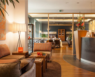 Hotel Villa Orange in Frankfurt - stilvolle Lobby